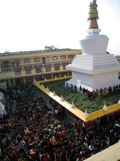 シッキムの仏塔