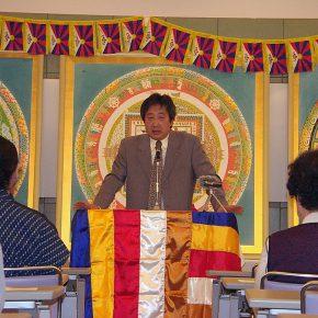 九州佐賀「チベットに平和を!」犠牲者追悼の集い