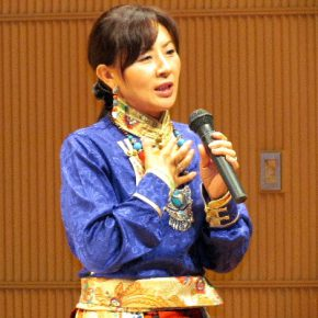 広島結集2016「チベット平和の夕べ」バイマー・ヤンジン講演会
