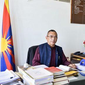 〔チベットハウス〕新代表・アリヤ氏ご着任