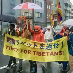 〔共催報告〕チベット蜂起記念日のピースマーチ